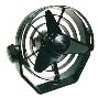 VENTILATEUR NOIR TURBO 2 VITES.12V
